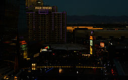 Visión desde Las Vegas veneciano Imagen de archivo libre de regalías