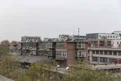 Visión desde los terraplenes de Xian City Wall - Imagen fotografía de archivo libre de regalías