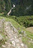 Visión desde Machu Picchu Foto de archivo libre de regalías