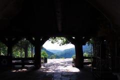 Visión desde Mather Lodge en Jean State Park pequeno fotos de archivo libres de regalías