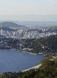 Visión desde Parque DA Cidade en Niteroi Fotos de archivo