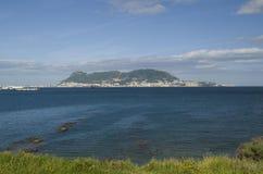 Visión desde Parque de Centenario a Gibraltar Fotos de archivo