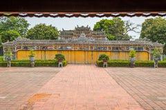 Visión desde Pavillion en la ciudad imperial de la tonalidad Foto de archivo libre de regalías