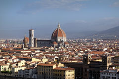 Visión desde Piazzale Miguel Ángel, Florencia, Italia Foto de archivo