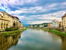 Visión desde Ponte Vecchio fotografía de archivo libre de regalías