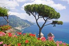 Visión desde Ravello foto de archivo libre de regalías