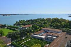 Visión desde San Giorgio Maggiore fotografía de archivo libre de regalías