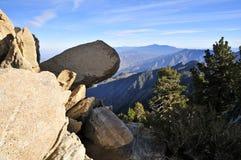 Visión desde San Jacinto Mountains, Palm Springs fotografía de archivo libre de regalías