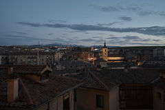 Visión desde Segovia Imagen de archivo