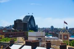 Visión desde Sydney Harbour YHA Imágenes de archivo libres de regalías
