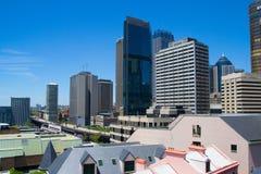 Visión desde Sydney Harbour YHA Imagenes de archivo