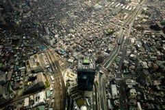 Visión desde Tokio Skytree Imagen de archivo libre de regalías