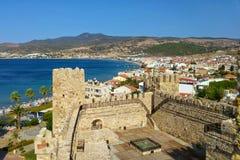 Visión desde un castillo Imagen de archivo libre de regalías