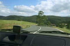 Visión desde un coche Imagen de archivo libre de regalías