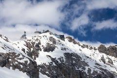 Visión desde Zugspitze alemania Fotografía de archivo libre de regalías
