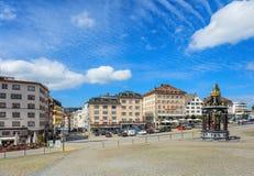 Visión en Einsiedeln, Suiza Fotografía de archivo libre de regalías