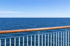 Visión en el mar del buque de pasajeros Foto de archivo libre de regalías