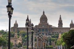 Visión en el Museo Nacional catalán en Montjuic fotografía de archivo