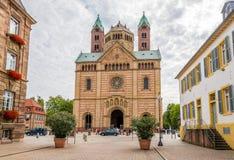 Visión en la catedral de Speyer Fotos de archivo libres de regalías