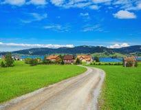 Visión en la ciudad de Einsiedeln, Suiza Fotografía de archivo libre de regalías