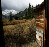 Visión en la fork de Anamas, Colorado Foto de archivo libre de regalías