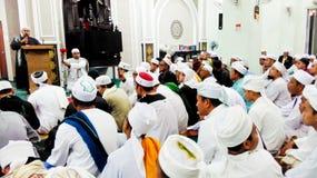 Visión en mezquita fotografía de archivo