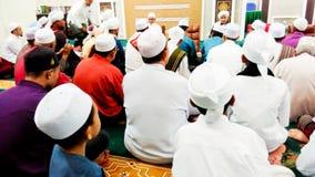 Visión en mezquita musulmán foto de archivo