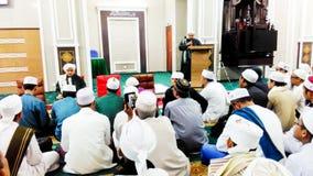 Visión en mezquita musulmán imagen de archivo