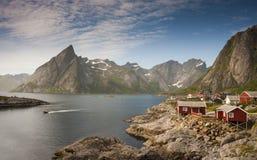 Visión en Noruega Imágenes de archivo libres de regalías