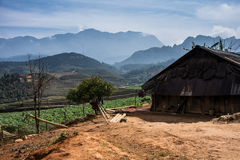 Visión en Sapa, Vietnam Fotos de archivo libres de regalías