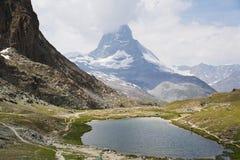 Visión en Zermatt Fotos de archivo libres de regalías