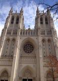 Visión exterior Washington National Cathedral Foto de archivo