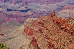 Visión fantástica, vista de Grand Canyon fotografía de archivo