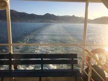 Visión hermosa desde el barco imágenes de archivo libres de regalías