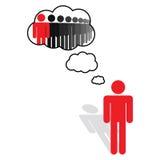 Visión, ideas y pensamiento Imagenes de archivo