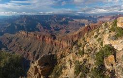 Visión increíble desde el borde del sur de Grand Canyon, Arizona, los E.E.U.U. Foto de archivo libre de regalías