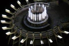Visión interna en la mina de sal y el museo Salina Turda Foto de archivo libre de regalías
