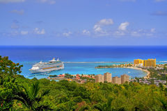 Visión jamaicana Fotografía de archivo libre de regalías