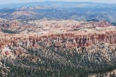 Visión lejana en Bryce Canyon Foto de archivo libre de regalías