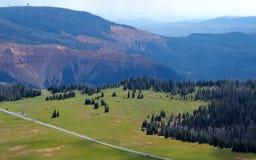Visión meridional desde Brian Head Peak en Utah Foto de archivo libre de regalías