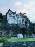 Visión natural en Nuwara Eliya, Sri Lanka fotos de archivo