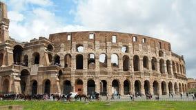 Visión panorámica Colosseum almacen de metraje de vídeo