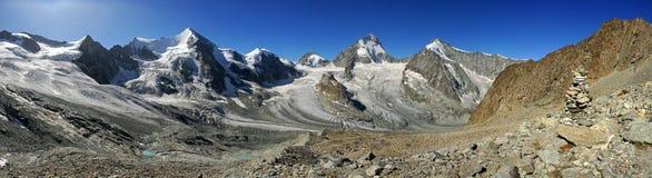 Visión panorámica desde el Mountet magnífico Fotos de archivo libres de regalías