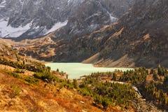 Visión panorámica en el lago Kuyguk Imagen de archivo libre de regalías