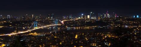Visión panorámica Estambul Fotografía de archivo