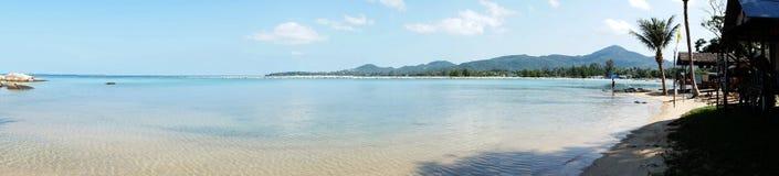 Visión panorámica Koh Pangan foto de archivo
