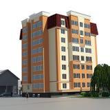 Visión residencial 3d Imagenes de archivo