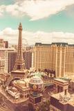 Visión retra Las Vegas Imagen de archivo libre de regalías