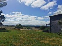 Visión rural australiana Fotografía de archivo