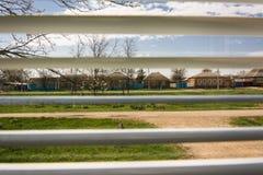 Visión rural desde la ventana Imágenes de archivo libres de regalías